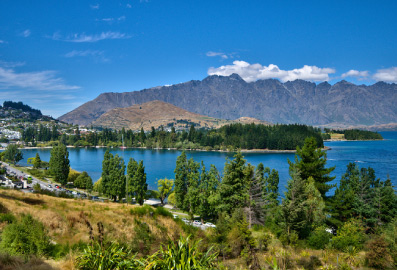 Scenic View Remarkables Highview Apartments Queenstown